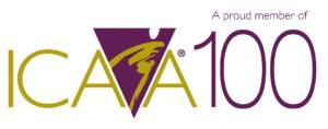 ICAA100 logo